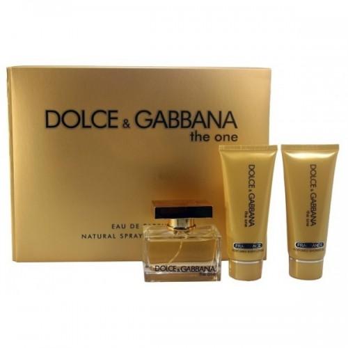 """Подарочный набор Dolce And Gabbana The One"""", 3 в 1"""""""