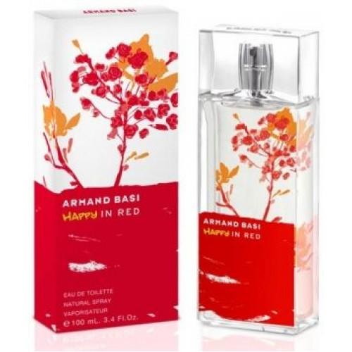 """Купить Armand Basi """"Happy In Red"""", 100ml со скидкой! в интернет магазине duxi-mos.ru"""