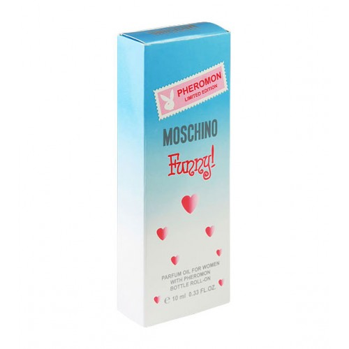 "Духи с феромонами (масляные) Moschino ""Funny"" 10 мл"