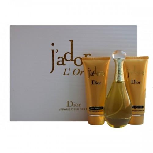 """Подарочный набор Christian Dior J`adore L'Or"""", 3 в 1"""""""