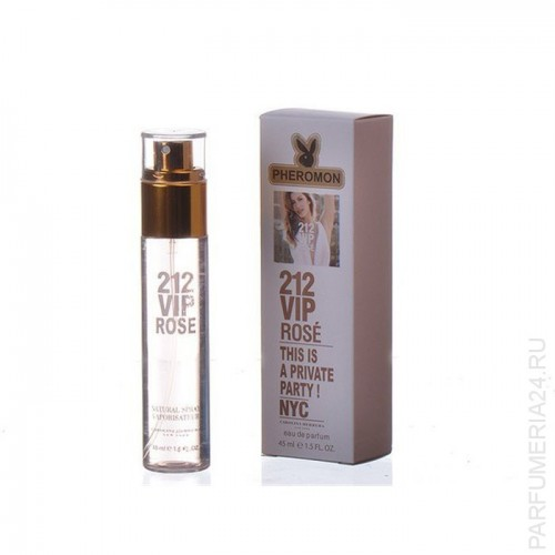Carolina Herrera 212 Vip Rose 45 ml