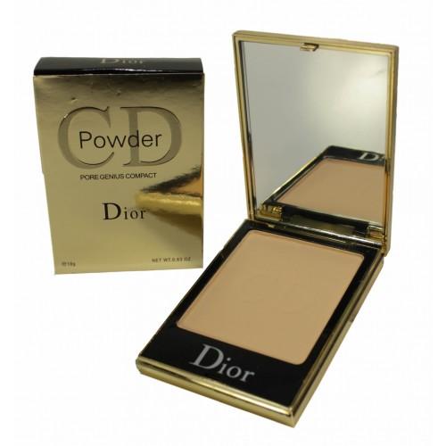 Компактная пудра CD Powder Pore Genius - 18 g №1