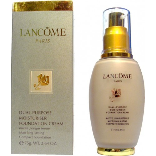 Lancome dual purpose moisturiser foundation cream 75 ml