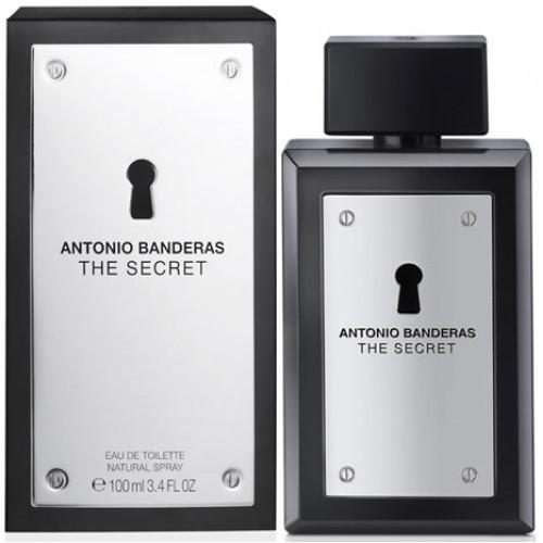 Купить Antonio Banderas The Secret 100ml со скидкой! в интернет магазине duxi-mos.ru