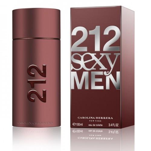 Купить Carolina Herrera - 212 Sexy Men 100ml со скидкой! в интернет магазине duxi-mos.ru