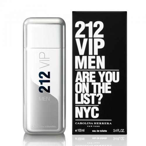 Купить Carolina Herrera 212 Vip Men 100ml со скидкой! в интернет магазине duxi-mos.ru