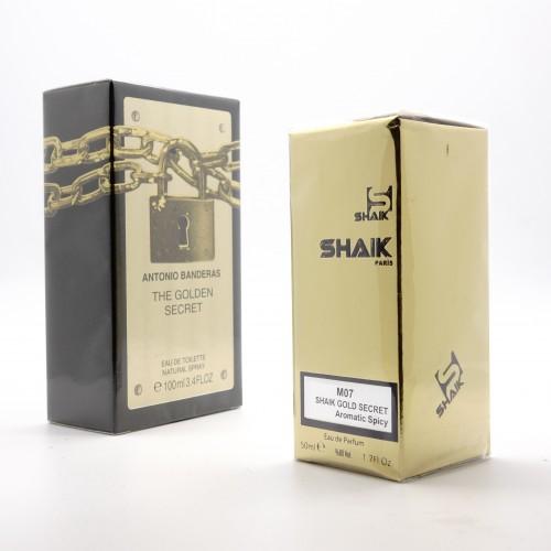 Antonio Banderas Secret The Golden M 7 (SHAIK ) 50 ml