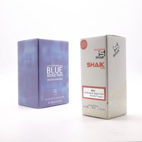 Antonio Banderas Blue Seduction M 5 (SHAIK ) 50 ml