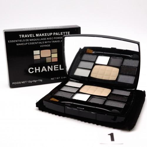 Chanel Travel Make-up тени+пудра №1