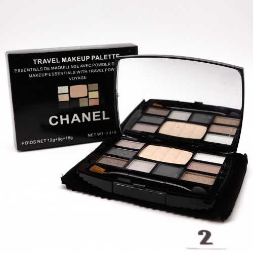 Chanel Travel Make-up тени+пудра №2