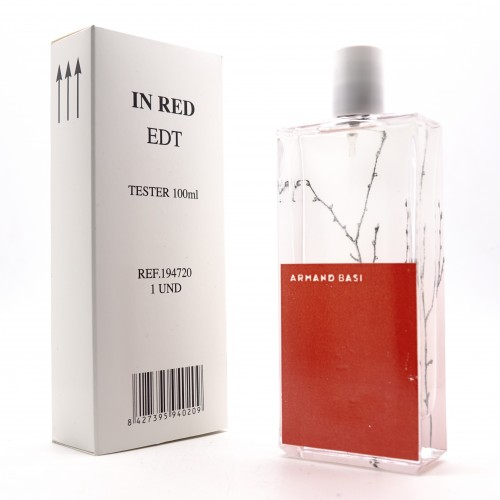 Парфюмерия оптом , Тестер Armand Basi In Red 100 ml