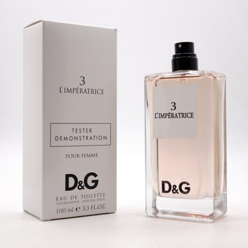 Парфюмерия оптом , Тестер Dolce & Gabbana 3 LImperatrice 100 ml
