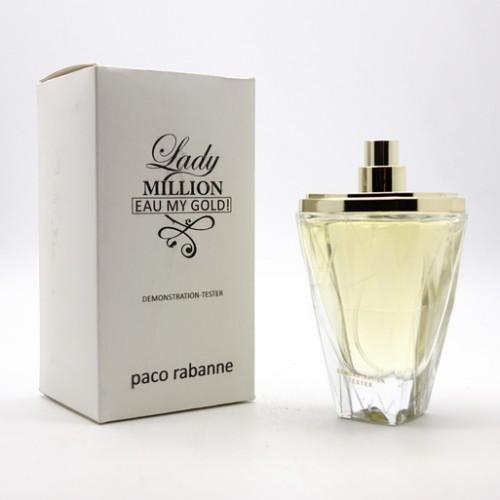 Парфюмерия оптом , Тестер Paco Rabanne Lady Million My Gold 80 ml