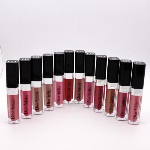 Блеск для губ Dior addict  in one click - 12 штук