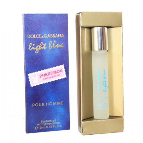 "Духи с феромонами (масляные) D&G ""Light Blue"" pour homme 10 мл"