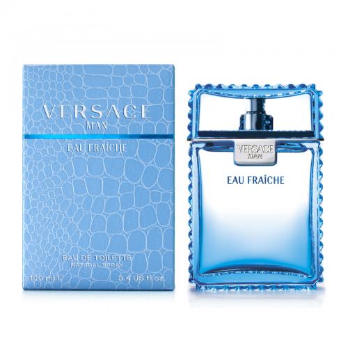 Купить Versace Man Eau Fraiche 100ml со скидкой! в интернет магазине duxi-mos.ru