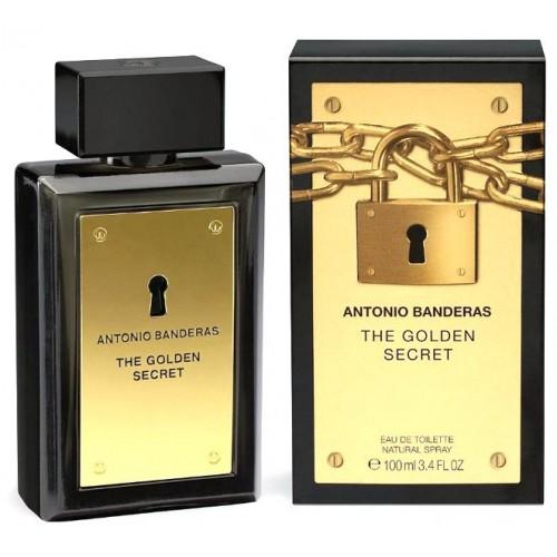 Купить Antonio Banderas The Golden Secret 100ml со скидкой! в интернет магазине duxi-mos.ru