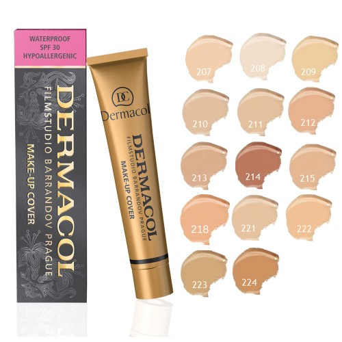 Тональный крем Dermacol Make up Cover №214