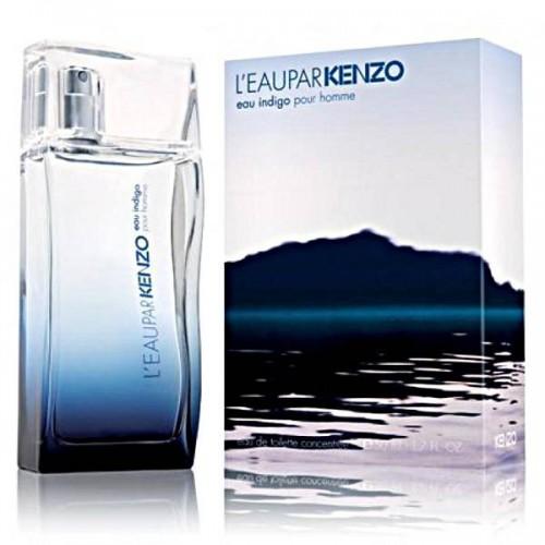 Купить Kenzo - L`eau par Kenzo Eau Indigo Pour Homme 100ml со скидкой! в интернет магазине duxi-mos.ru