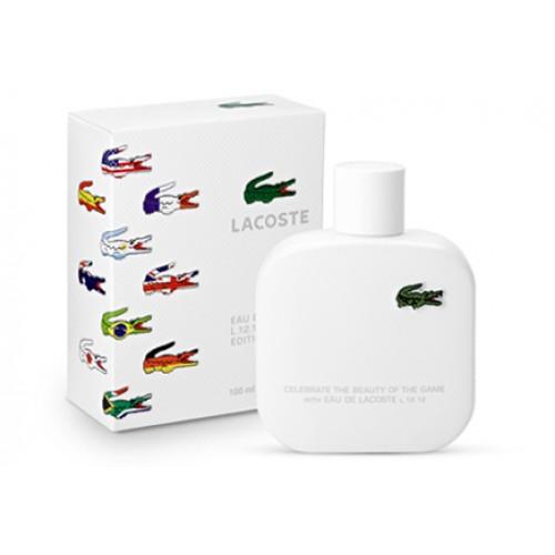 Купить Lacoste - Lacoste L12.12 Blanc Limited Edition 100ml со скидкой! в интернет магазине duxi-mos.ru