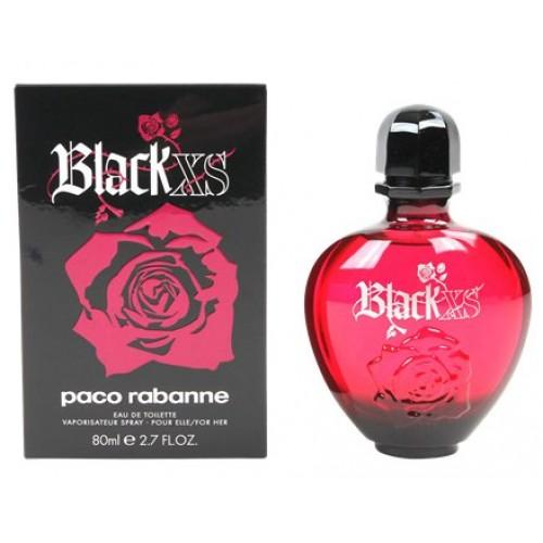 Купить Paco Rabanne Black Xs Pour Femme 80ml со скидкой! в интернет магазине duxi-mos.ru