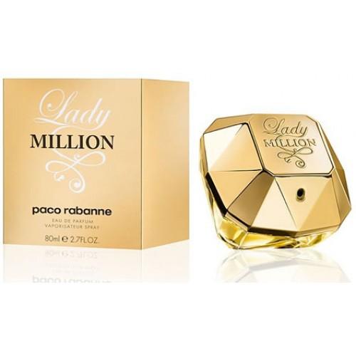 Купить Paco Rabanne Lady Million 80ml со скидкой! в интернет магазине duxi-mos.ru