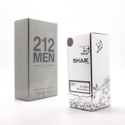 Carolina Herrera 212 Men M 27 (SHAIK ) 50 ml