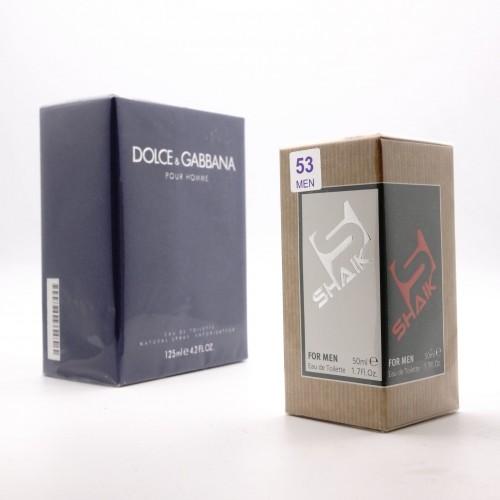 D&G pour homme M 53 (SHAIK ) 50 ml