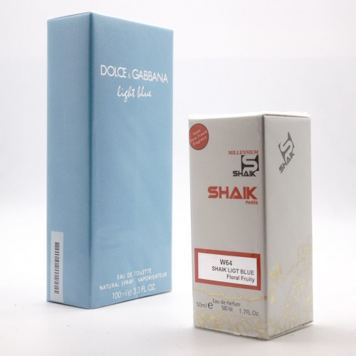 Dolce&Gabbana Light blue W 64 (SHAIK ) 50 ml