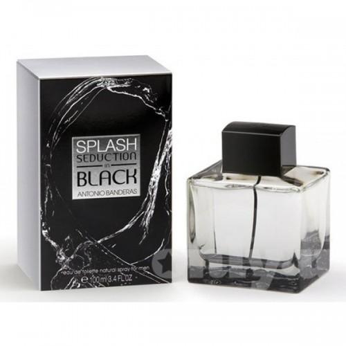 Купить Antonio Banderas Splash Seduction in Black 100ml со скидкой! в интернет магазине duxi-mos.ru